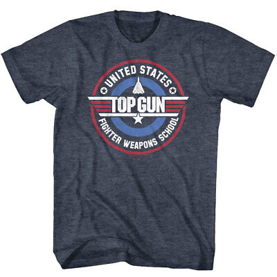 Top Gun United States Fighter Weapons School Men's T Shirt American Miliary Air
