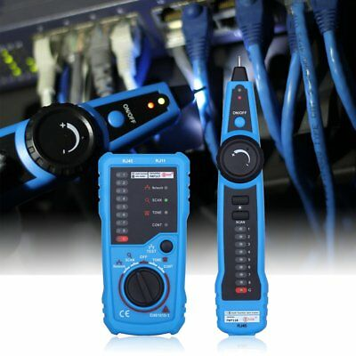 Telephone/Phone Network Cable Tester Wire Line LAN Cable RJ Tracker Toner Tracer