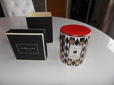 JO MALONE HARLEQUIN ORANGE BITTERS CANDLE WITH LID 420g CANDLE IN GIFT BOX