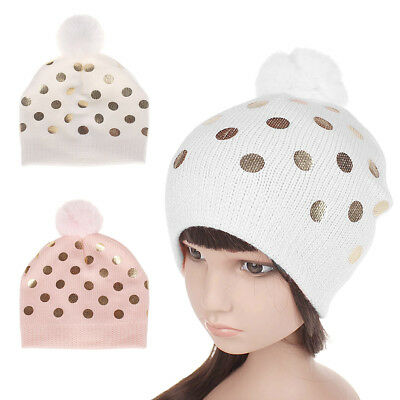 Newborn Toddler Kid Girl&Boy Baby Infant Winter Warm Crochet Knit Hat Beanie Cap