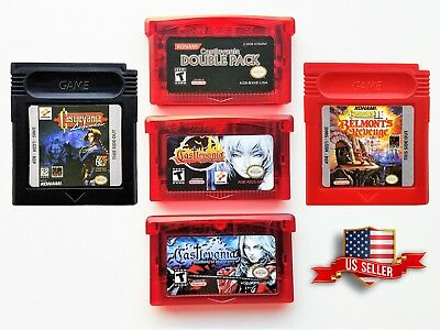 Castlevania Aria of Sorrow / Harmony Dissonance  / Double Pack Gameboy Advance