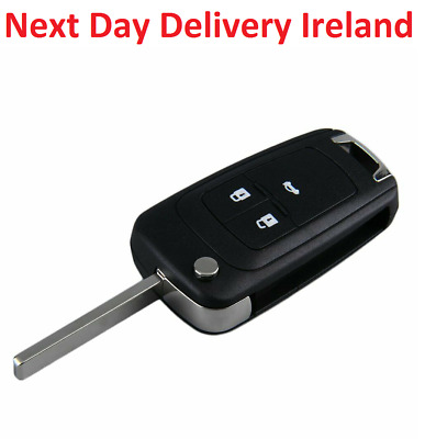 Uncut Replacement Blank Car Fob Key Vauxhall Opel Corsa Astra Vectra Insignia
