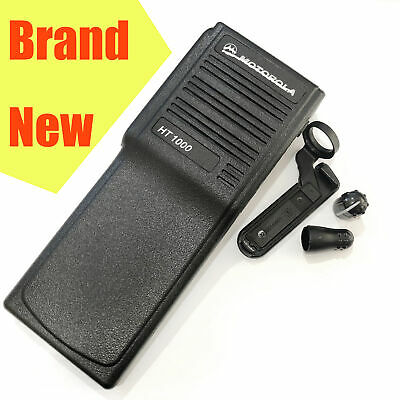 Black Replacement Case Housing For Motorola HT1000 Radio with Connector