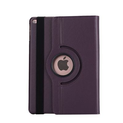Apple iPad 5 | 6 Generation Air 1+2 9.7 360° Cover Case Tablet Hülle lila