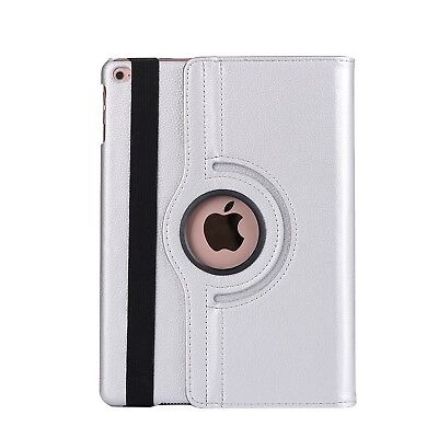 Apple iPad 5 | 6 Generation Air 1+2 9.7 360° Cover Case Tablet Hülle silber