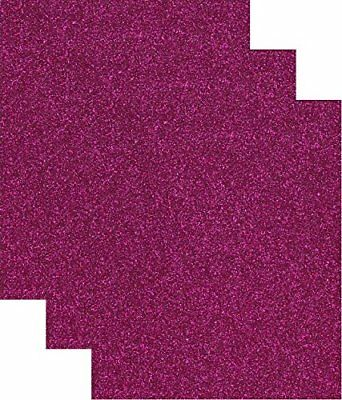 Siser Glitter Heat Transfer Vinyl HTV for T-Shirts 10 by 12 Inches 1 Foot 3 Hot