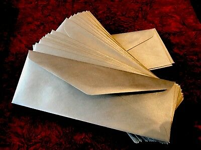 15 Money Gift Envelopes / Wallets Silver Perfect Fit For £5 / £ 10 Notes