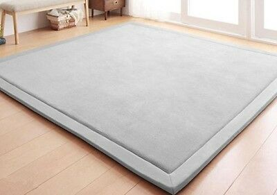Mat Rug Baby Children Toddler Crawling Play Yoga Exercise Gym Blanket Soft Thick
