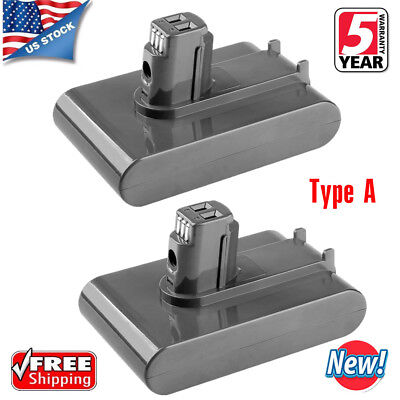 2X Lithium Battery For Dyson DC31 DC34 DC35 17083-2811 DC44 Type A 3.0Ah 22.2V