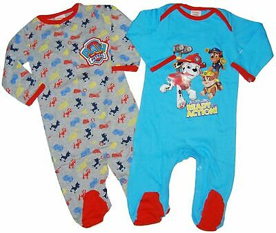 Baby Boy Paw Patrol Sleepsuits All in One Vests