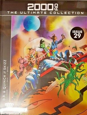 2000 AD The Ultimate Collection # 29 = D.R. & QUINCH // SKIZZ