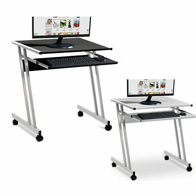 Small Corner Computer Desk PC Table Study Home Office Work Station Z-Shape NEW