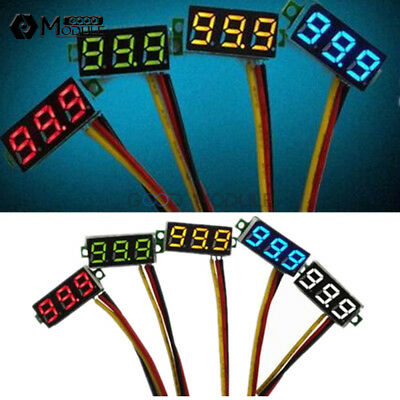 "0.28"" 3 Wire LED DC 0-100V Voltmeter Digital LED Display Voltage Panel METER"