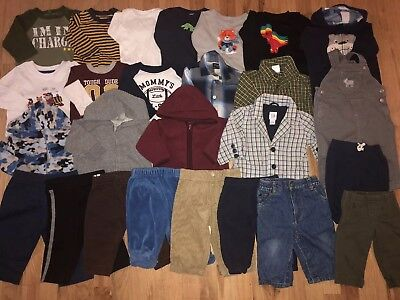 Baby Boy Clothes lot 3-6 and 6 Months Fall/Winter 26 pieces. Free shipping