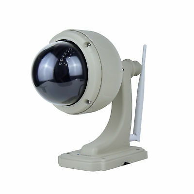 Telecamera IP FHD Impermeabile PTZ WiFi Motion Detection Visione Notturna