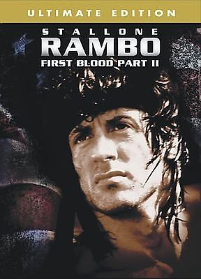Rambo - First Blood Part 2 (DVD, 2004, Ultimate Edition)