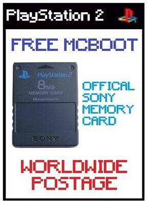 LATEST FMCB / Free Mcboot Version 1.964 / Official Sony 8MB PS2 Memory Card
