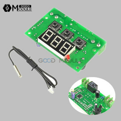 -50-110°C Temperature Controller Control Switch DC12V Thermostat Relay Sensor GM