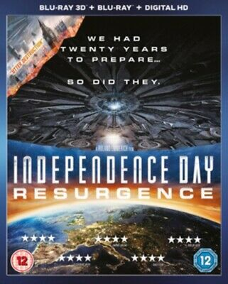 Independence Day - Resurgence 3D+2D Blu-Ray NEW BLU-RAY (6474915001)