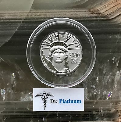 2000 Eagle, 1/2 oz 9995 Platinum Coin - DPPC8