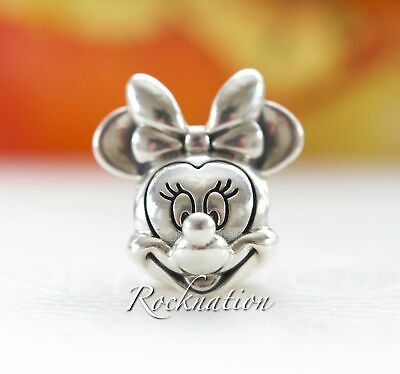 New! Authentic Pandora Charm Disney Minnie Portrait 791587