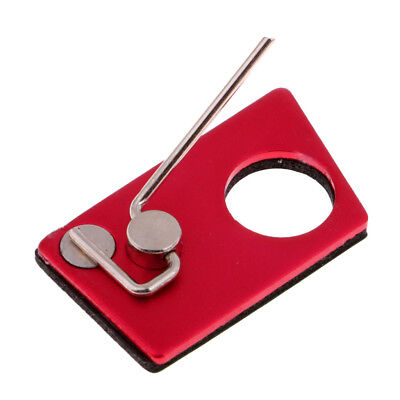 Archery Arrow Rest Recurve Bow Metal Left Hand Magnetic Adhesive Rest Red