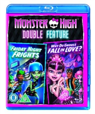 Monster High - Friday Night Frights / Why Do Ghouls Fall In Love Blu-Ray NEW BLU