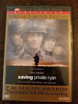 Saving Private Ryan With Tom Hanks Special Limited Edition DVD Movie