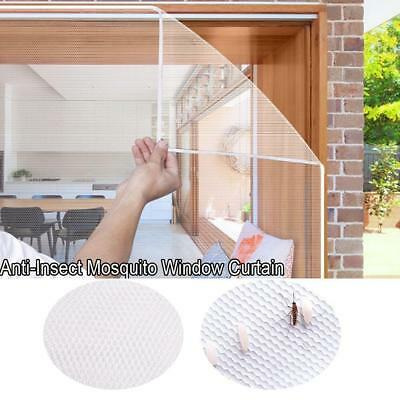 Anti-Insect Fly Bug Mosquito Door Window Curtain Net Mesh Screen Protector BJ