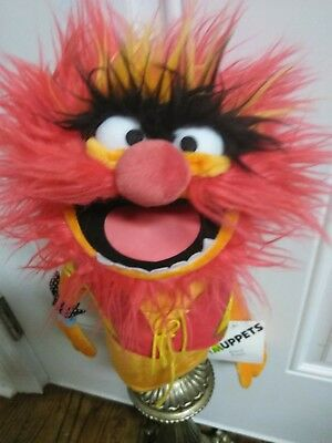 GREAT DEAL BRAND NEW hand puppet fm The MUPPETS*NWT*NEVER USED!  WITH FREE HAT!