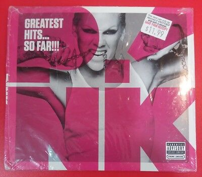 GREATEST HITS... SO FAR!!! [Explicit - Digipak] by P!NK / PINK (CD, 2010 - USA)