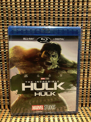The Incredible Hulk (Blu-ray, 2017)Marvel Avenger/Bruce Banner/Iron Man/Tony Sta