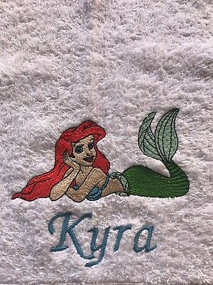 Personalised Embroidered Bath Towel