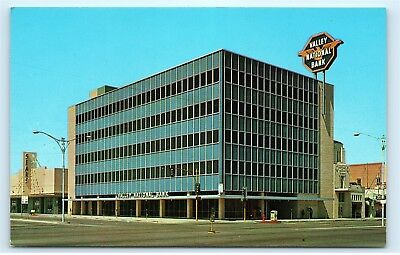 Valley National Bank V.N.B.B. Mesa Arizona 66 West Main Street Postcard D12