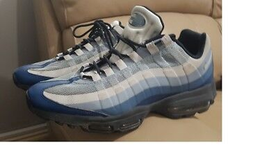 cd87f00144 MENS NIKE AIR max 95 110 trainers size 7 uk 41 eur blue and white ...