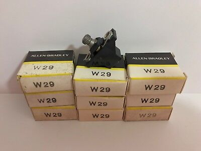 Lot Of 9 New! Allen-Bradley Overload Relay Thermal Heater Units W29