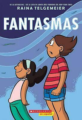 Fantasmas by Raina Telgemeier (Spanish) Paperback Book Free Shipping!