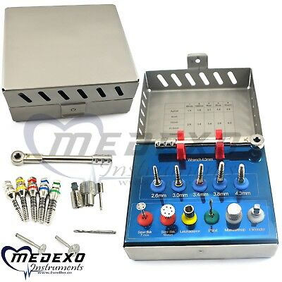 Dental Sinus Lift Bone Expander Trephines Saw Disk Implant Oral Surgery Kit