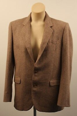 Small 36 Short Mens  Original Vintage  Tweed Jacket.  Unisex.
