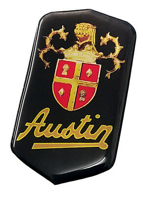 Austin A30 or A35 Grille Badge OVERLAY - Easy fit without removing the grille