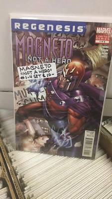 Magneto: Not a Hero #1-4 (2012) COMPLETE SET Marvel Comics