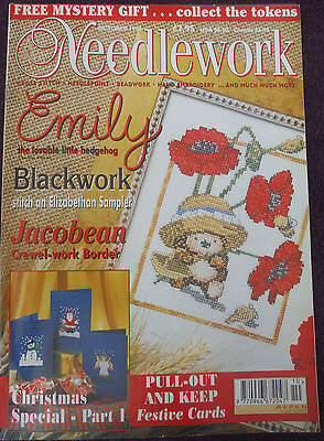 NEEDLEWORK Magazine  Oct 1996  Clearing Out The Craft Cupboard