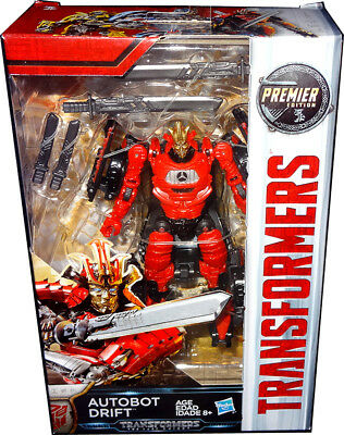 Transformers The Last Knight Autobot Drift Deluxe Action Figure Premier Edition!