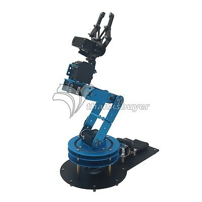 LeArm 6DOF Desktop Mechnical Robotic Arm with Servo PS2 Control for Educational