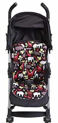 Baby Elephant Ears 3 Piece Stroller Set ~ Seat Liner, Support Pillow & Strap Red