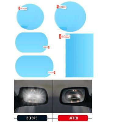 Car Waterproof Mist Anti-Fog Rainproof Rearview Mirror Glass Protective Film