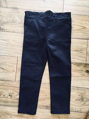 Bnwt Boys Navy Chinos From Outfit 5-6