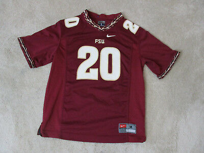4ca4555c06107 Nike Florida State Seminoles Football Jersey Size Youth Medium Red Gold  Kids