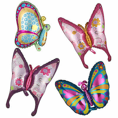 1 x Butterfly Shape Foil Balloon Birthday Wedding Party Festival Room Decoration