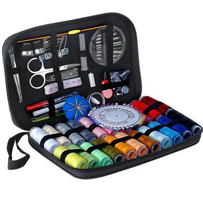 126pcs Portable Travel Sewing Kit For Beginners Thread Needles Repair Sew Tools